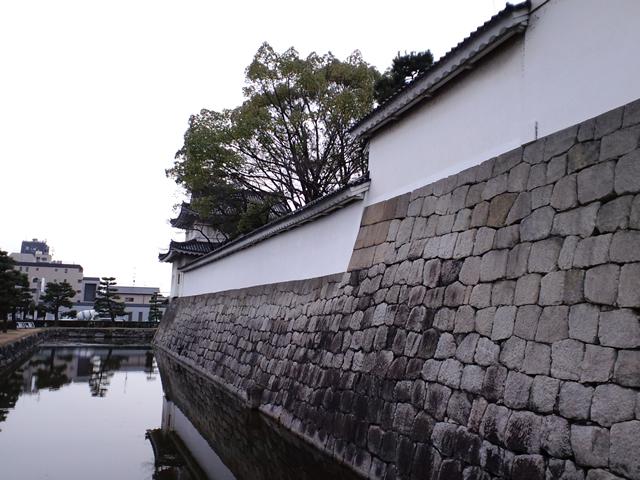 走り込み(京都駅~二条城)